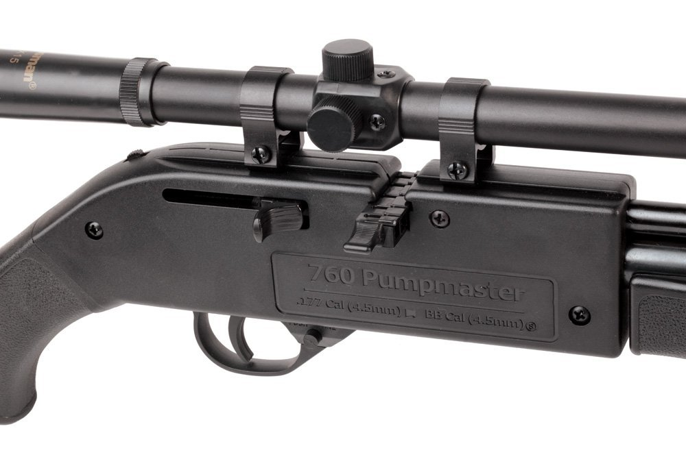 Honest Crosman 760 pumpmaster air rifle with 4x15 Scope