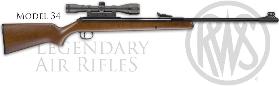 RWS 34 .22 caliber air rifle