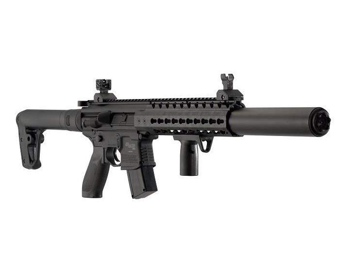 SIG Sauer MCX Pellet Rifle, Flat Dark Earth