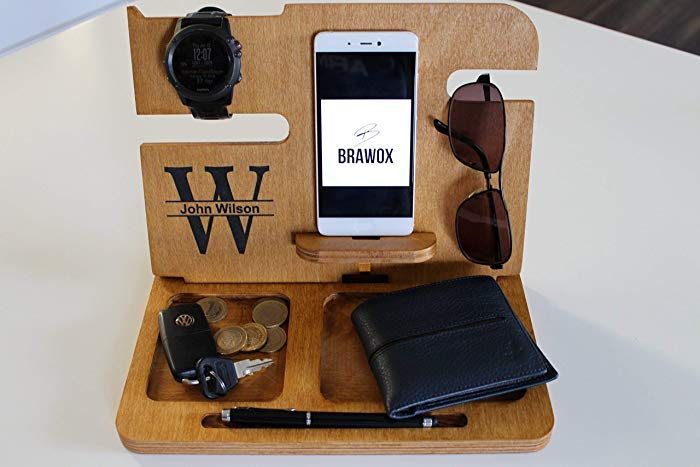 men's wood docking station best father's day gifts