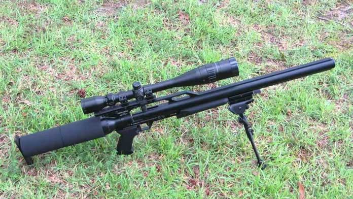 airforce condor ss pcp rifle - the most accurate pcp air rifle
