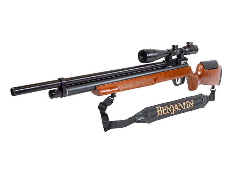 benjamin marauder pcp air rifle - powerful and lightning - quick shooting