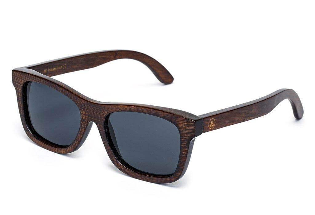classic polarized wood bamboo sunglasses