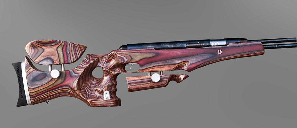 Diana RWS 48 Air rifle stock is made of a beautiful beech wood