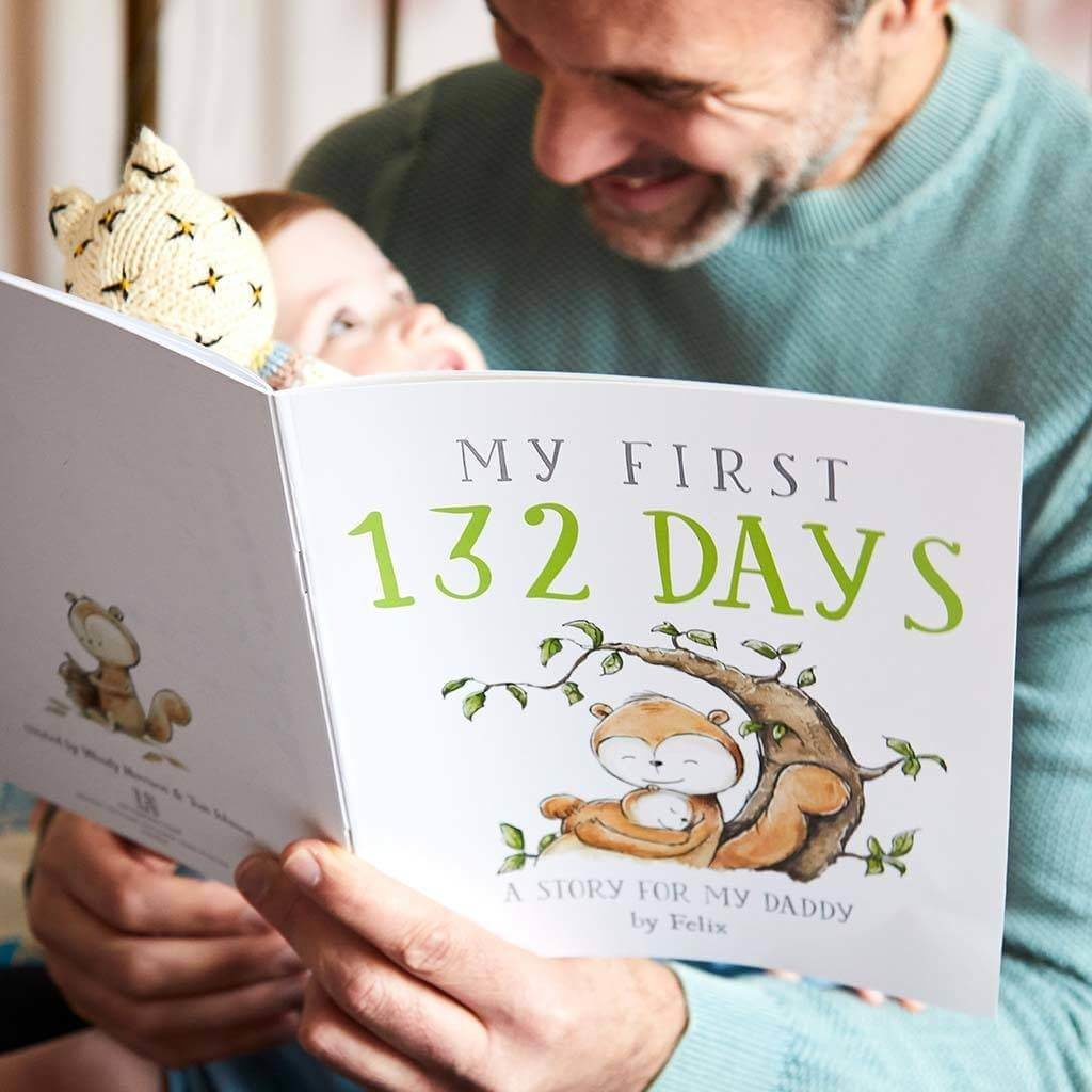 first father's day personalized book is one of best father's day gifts