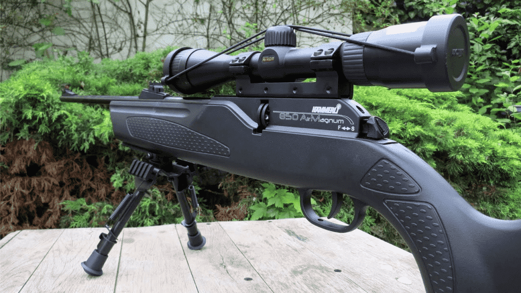 hammerli 850 air magnum - the best air rifle for medium  game hunting