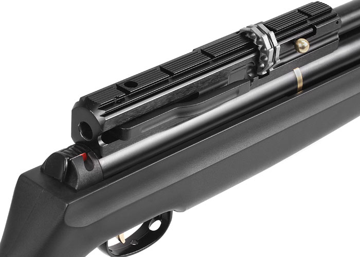 high energy with no noise air rifle