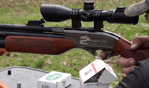 Air rifles with a repeater function