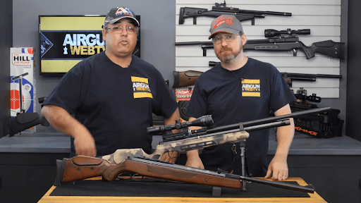 PCP air rifles vs break barrel air rifles