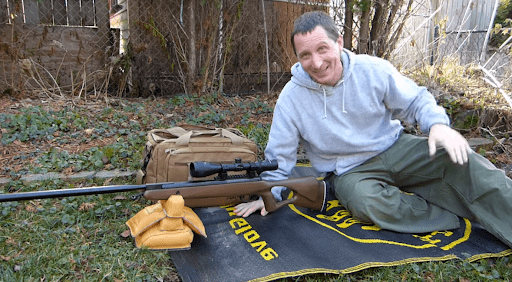 Quiet air rifle for squirrel hunting
