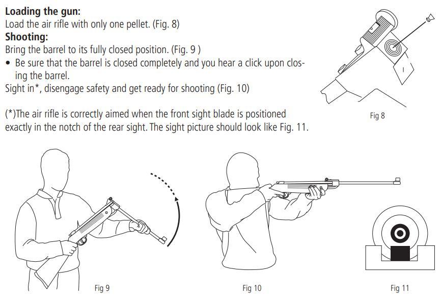 beautiful air rifle for rabbit hunting