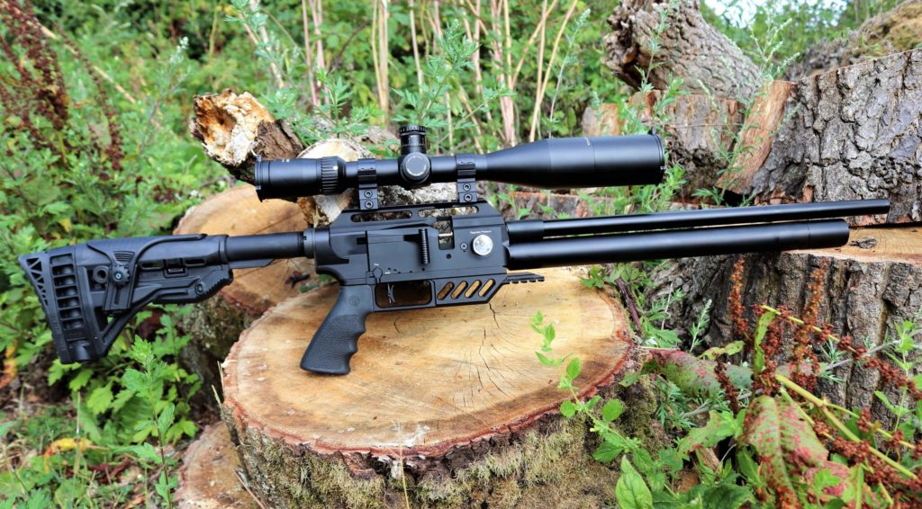 b12 Black Ops Tactical Sniper Spring piston Combo Air rifle Review
