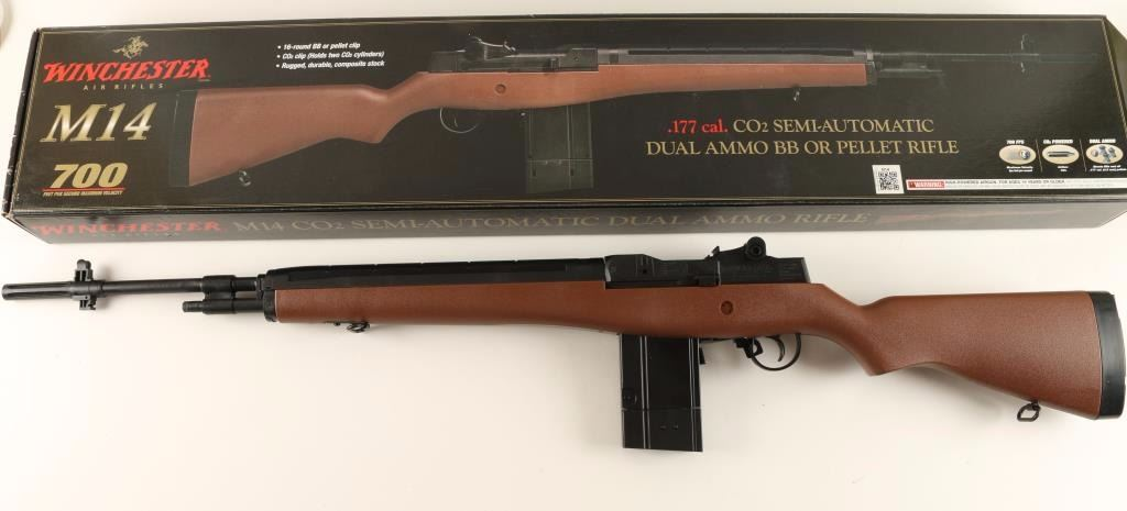 w2 Winchester M14 CO2 Review – Experience Firearm Power